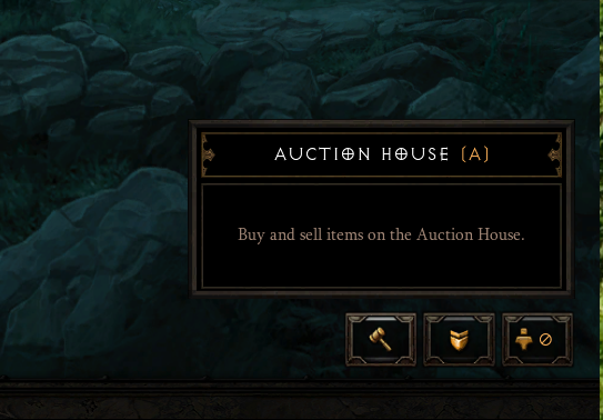 Auction House Menu